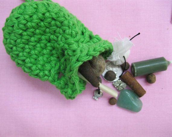 Good Luck Mojo Bag  Lucky Charm  Shaman Amulet  Mojo by Exotiflora, $15.00