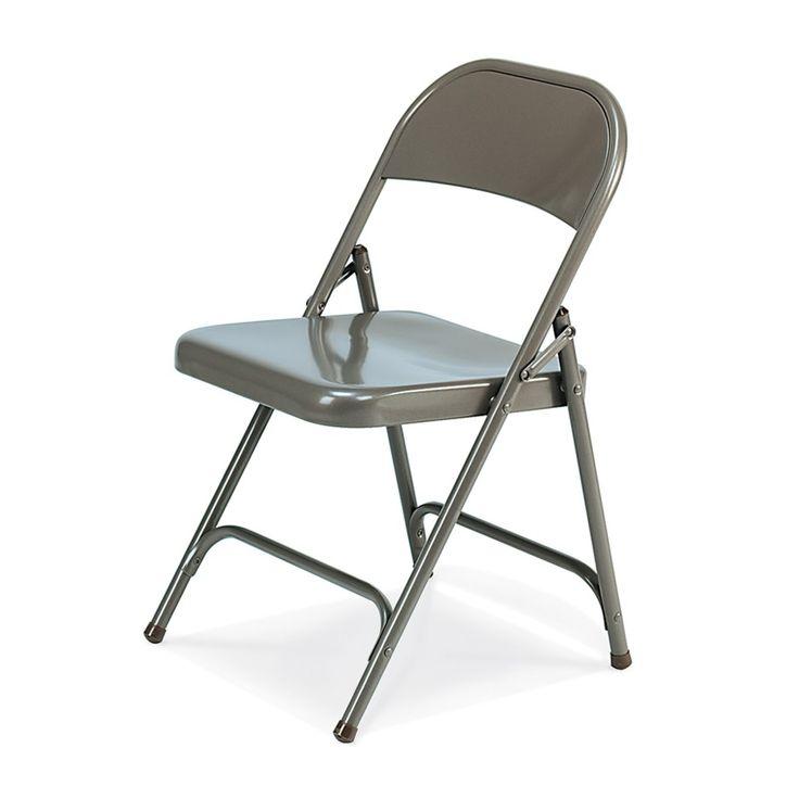 Sturdy Metal Folding Chairs
