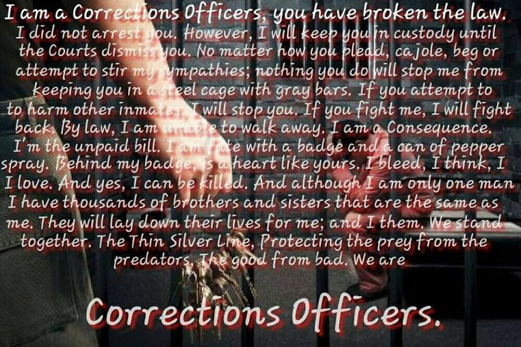 17 best CORRECTIONAL/SECURITY OFFICER/JAILER images on Pinterest
