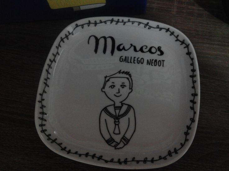 Vajilla ikea + rotulador ceramica