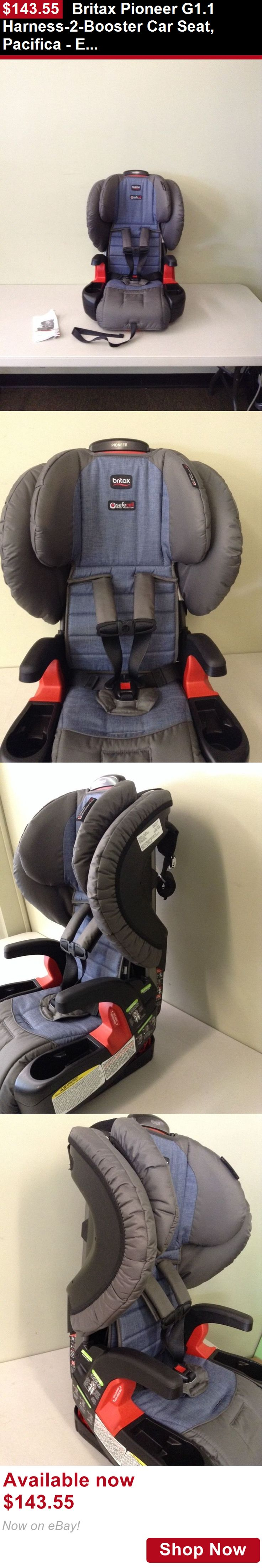 Booster Seats: Britax Pioneer G1.1 Harness-2-Booster Car Seat, Pacifica - E9lz66v- 2016 Display BUY IT NOW ONLY: $143.55
