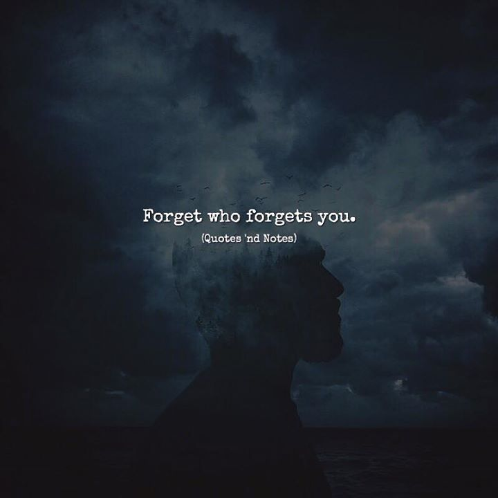Forget who forgets you. via (http://ift.tt/2v2c0WN)