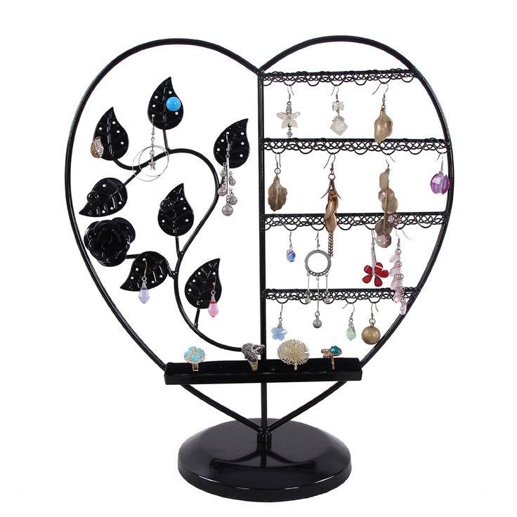 Songmics porte bijoux pr sentoir de boucle d 39 oreille - Presentoire a boucle d oreille ...