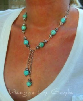 "Pinner--Turquoise Jewelry $348 ""I could make this for a whole lot less than that"" VH"