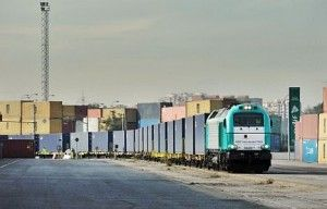 The Silk Railway :freight train from China pulls up in Madrid - Railly News | Dailly Railway News in English