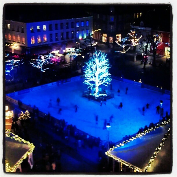 Iceskating on the Vrijthof during #MagischMaastricht, Christmas
