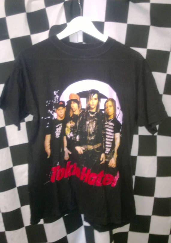 Vintage Band t shirt Black Tokio Hotel VINTAGE Band TSHIRT