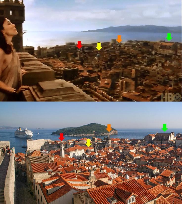 Kings Landing Apartments: Dubrovnik Is The Kings Landing In Games Of Thrones