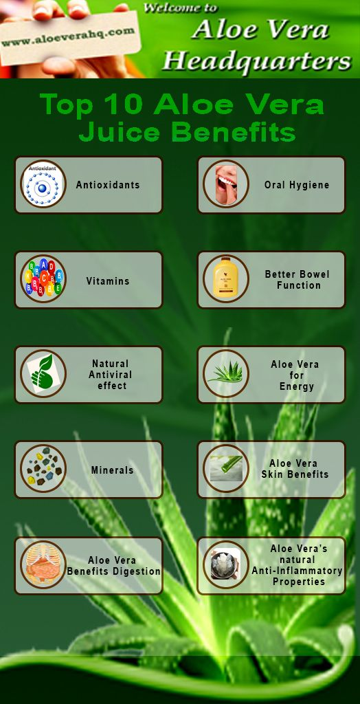 Awesome Top 10 Aloe Vera Juice Benefits