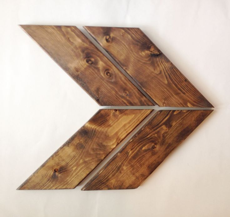 How to make a rustic wood arrow! I want to do this DIY!