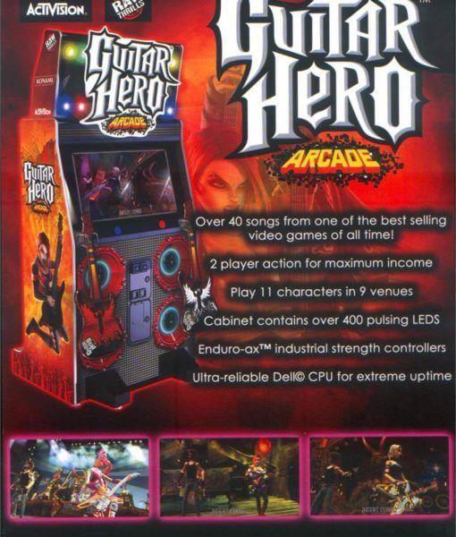 Guitar Hero Arcade Game | home | Arcade games, Buy guitar