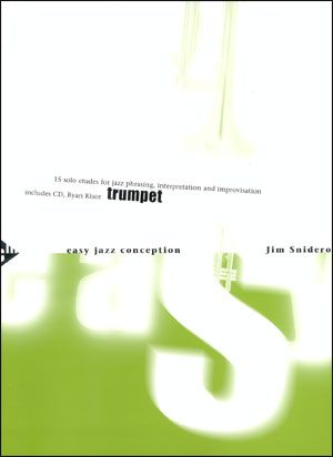 Jamey Aebersold Jazz: Easy Jazz Conception for Trumpet