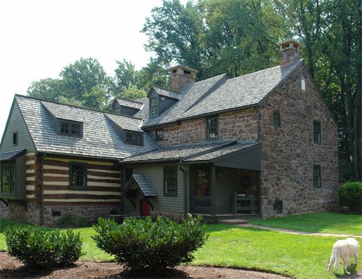 17 best images about stone houses on pinterest house for Log and stone homes
