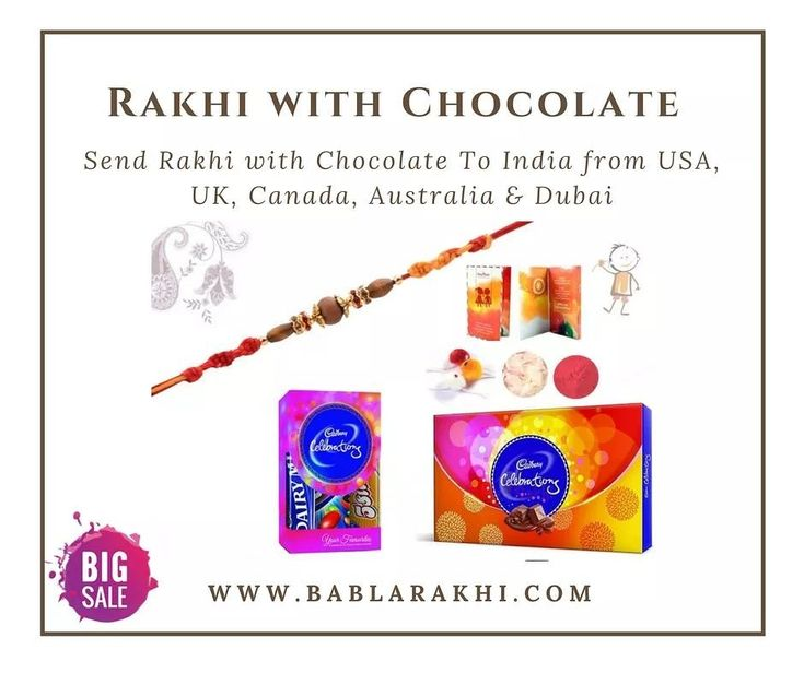 9320245497b2a71d3ec939b845c94c50 - 💐 Send Rakhi with Chocolates To India From USA, UK, Canada, Australia & Dubai...