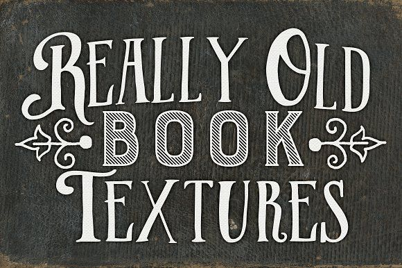 Really Old Book Textures by Clikchic Designs on @creativemarket