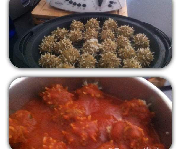 Recipe Porcupines (Meatballs) by Danille - Recipe of category Main dishes - meat