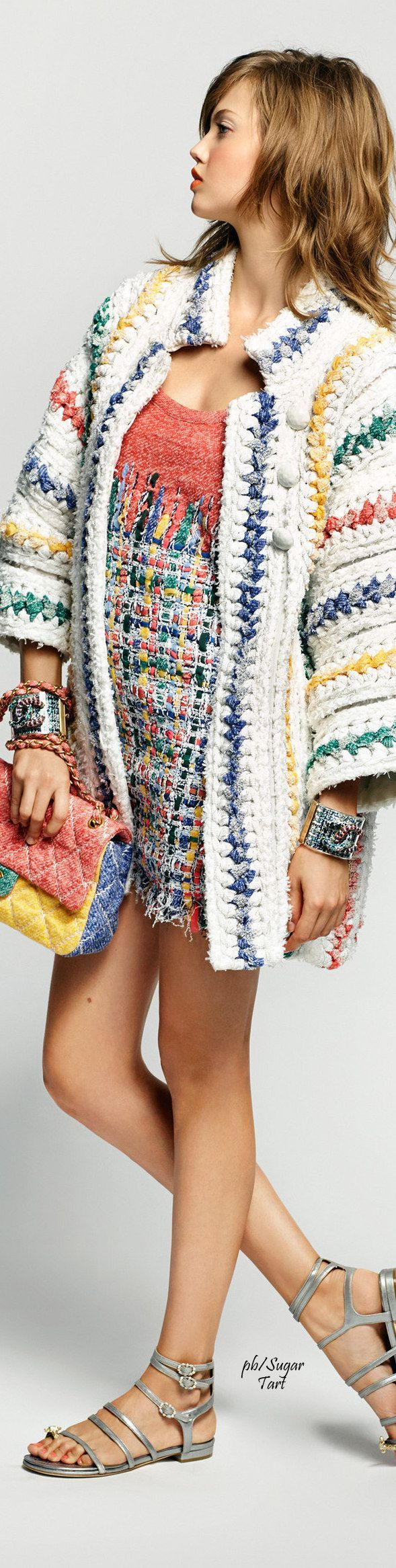 Chanel S/S 2015 ♥✤ Knitted Fashion