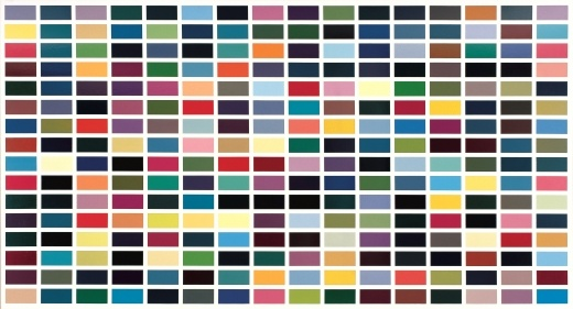 Gerhard Richter » Art » Paintings » Abstracts » 256 Colours » 352-2
