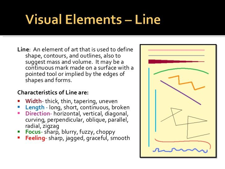 Visual Elements Line : Best mini portfolio elements and principles of art