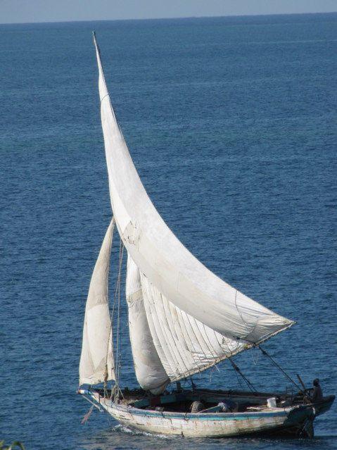 Haiti Wooden Sailboats Ships and Dugout Canoes