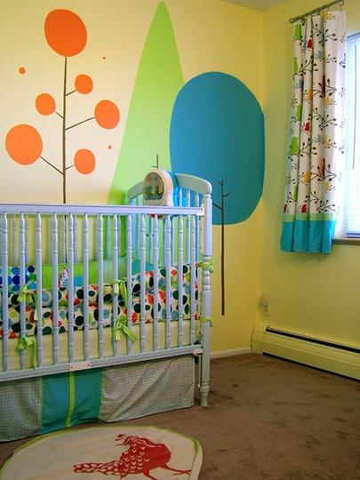 Charlieu0027s Bright Happy Forest U2014 Small Kids, Big Color Entry #47. Playroom  MuralKids ... Part 13