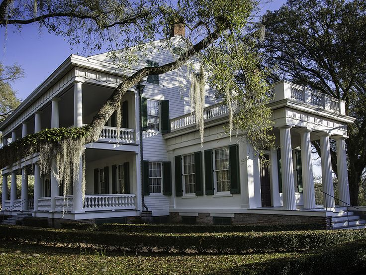 Tour the house and gardens of a luxurious 19th century cotton plantation.
