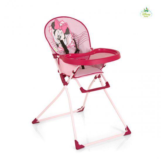 Scaun Masa Mac Baby Minnie Pink – Hauck