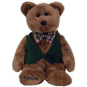 Ty Beanie Babies Papa the Bear Beanie Baby