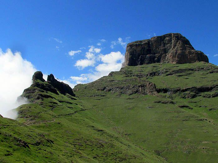 Sentinel Peak, Amphitheater, Drakensberg, South Africa