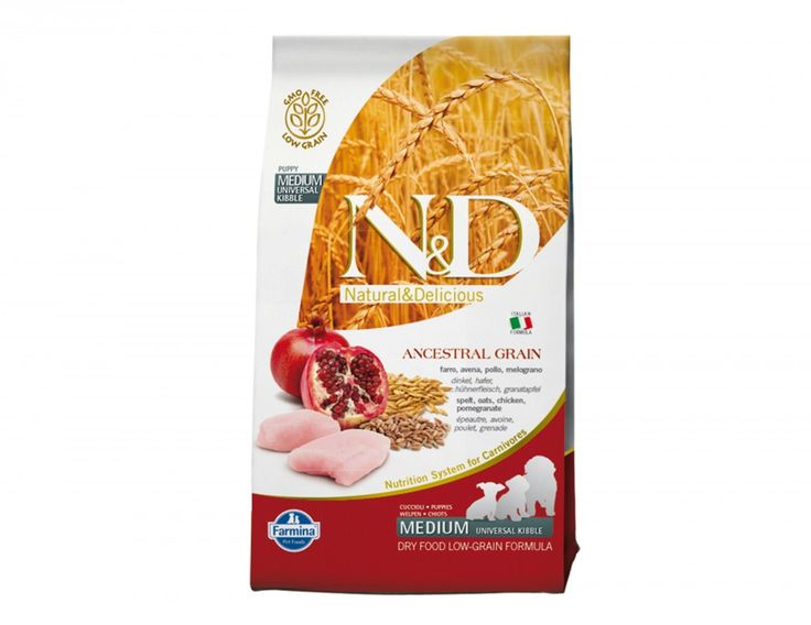 Shop #NaturalandDelicious Low Grain Chicken and Pomegranate #Puppy #DryDogFoods Online at Petwish.in available with home delivery across in India.