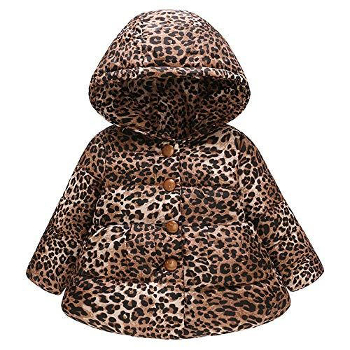 af92cb9bc Keliay Clearance Sale Toddler Baby Girls Boys Winter Leopard Print ...