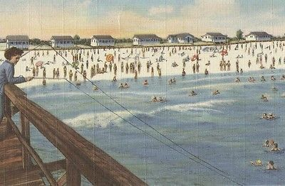 1946 fort walton ft walton florida cottages beach and for Fort walton beach fishing