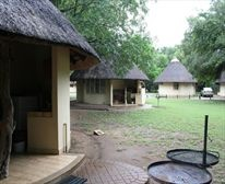Bungalows at Letaba Restcamp