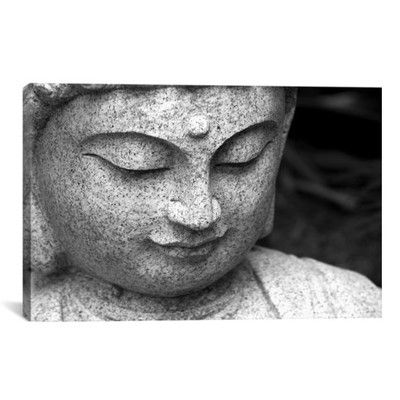 Found it at Wayfair - Chinese Buddha Photographic Print on Canvas
