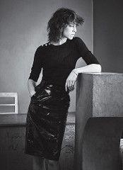 Charlotte Gainsbourg in vinyl skirt (PVC Fashion) Tags: charlotte gainsbourg shiny sexy pvc vinyl plastic skirt fashion clothing beauty celebrity celebrities actress women