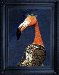 'Princess Flaminia' Stretched Printed Canvas