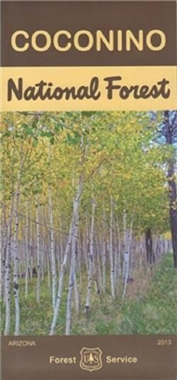 Coconino National Forest Map   *Media > Books*   Forest map ...