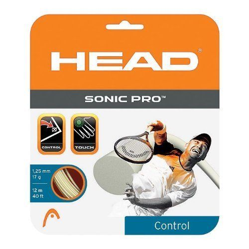 Head Sonic Pro Tennis String (White) by HEAD. Save 72 Off!. $11.95. ###############################################################################################################################################################################################################################################################