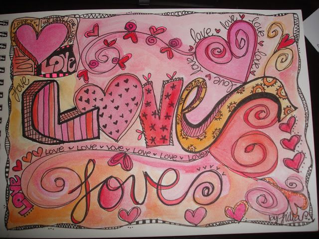 love art drawing
