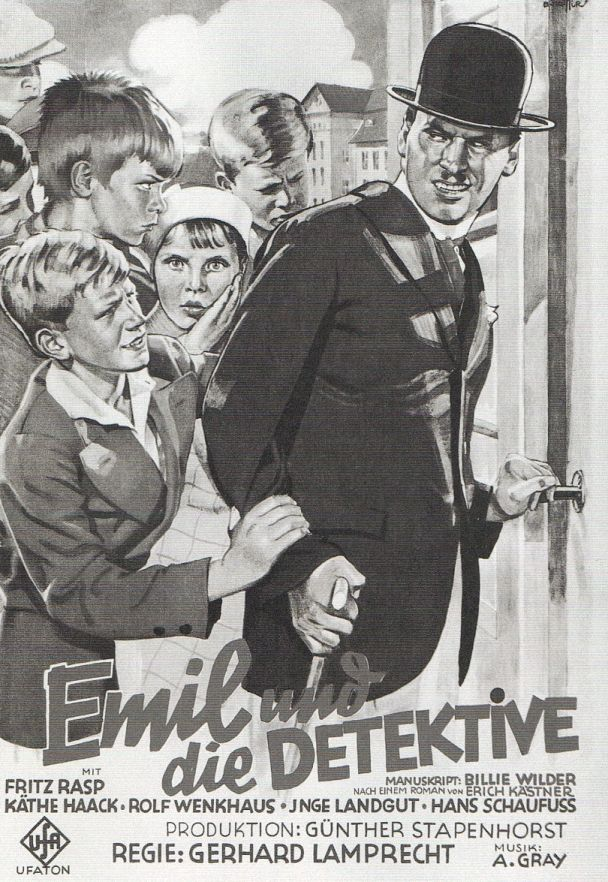 Filmplakat, Emil und die Detektive. Berlin, 1931. o.p.