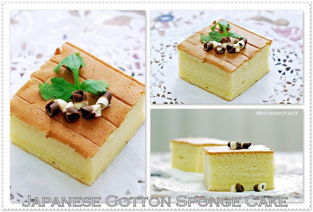 Japanese Sponge Cake Recipe Youtube: 44 Best Cotton Sponge Cake Images On Pinterest