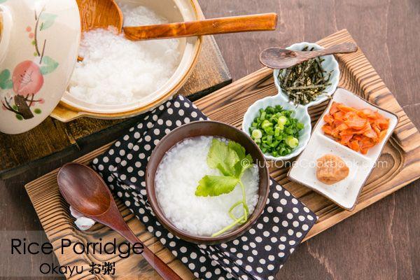 Rice Porridge | Okayu お粥