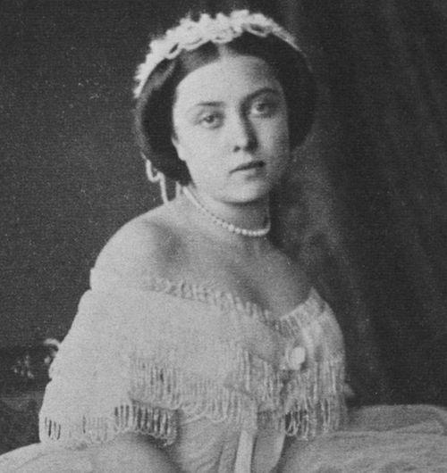 Victoria Princess Royal, on her sixteenth birthday 21 nov 1856