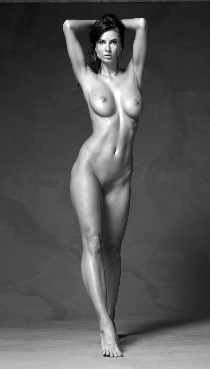 female models nude black and white