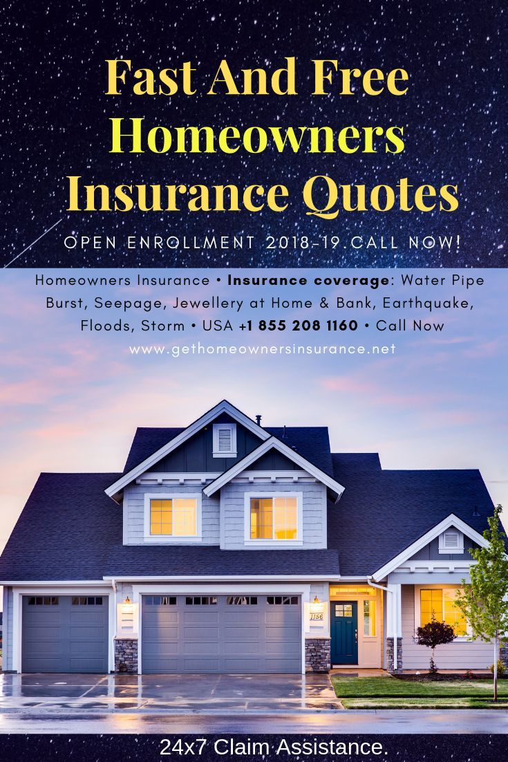 Fast And Free Offers For Homeowner Insurance Homeowners