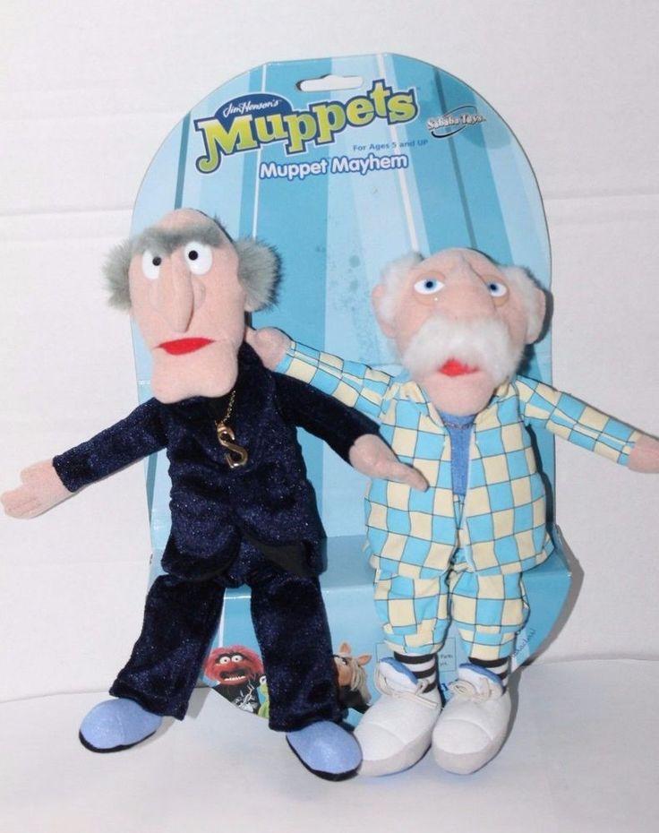 Muppet Mayhem Statler & Waldorf Plush New Jim Hanson's Muppets #SababaToys
