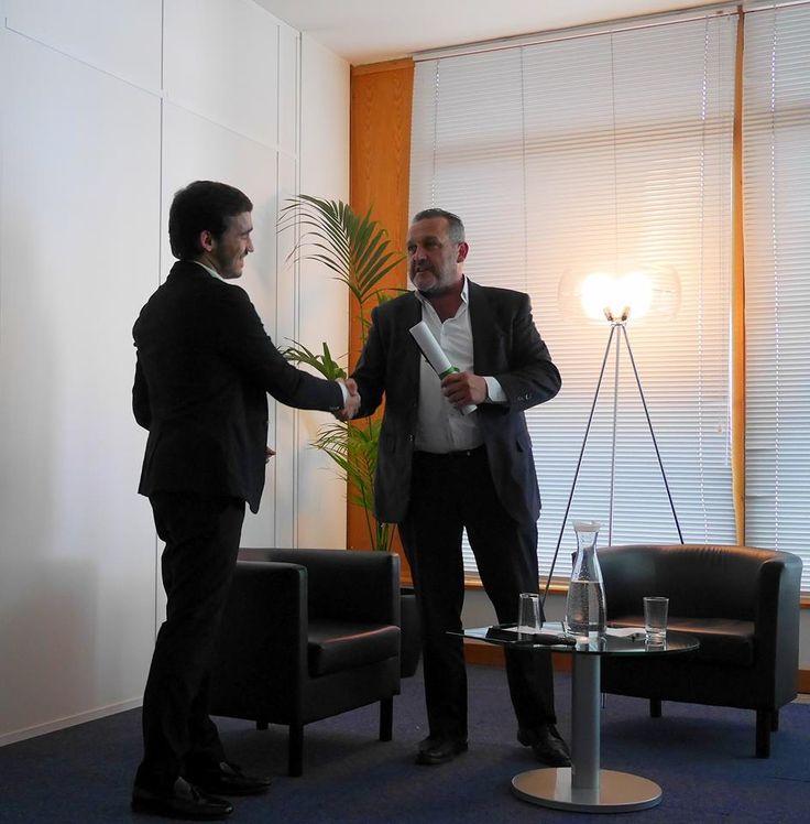 Apresentação   Compete 2020   2016.04.28   João Amaro, CEO da Tété; Rui Vinhas da Silva, Presidente do Compete 2020