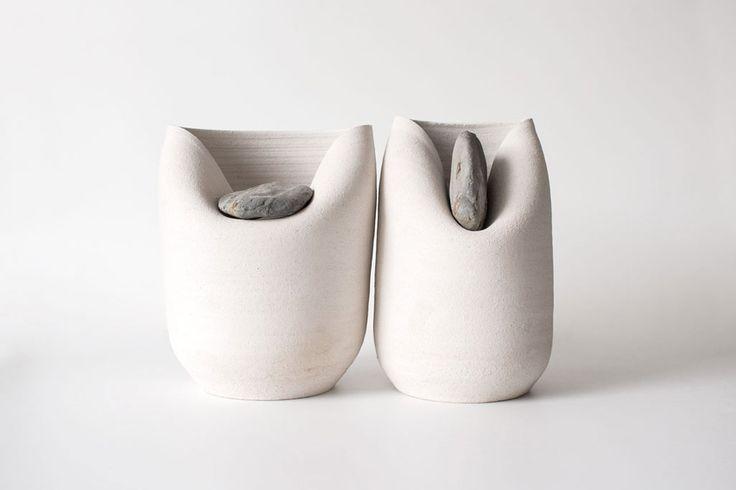 Martín Azúa: Vase Stone