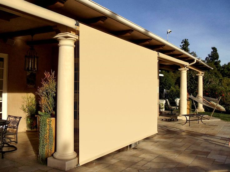 Roller Drop Shades Elements Arbors Pinterest Outdoor Curtains Patios And Exterior