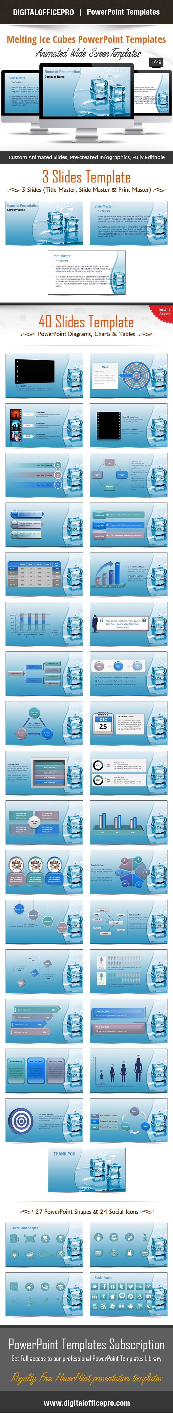 12 best powerpoint inspiration images on pinterest presentation impress and engage your audience with melting ice cubes powerpoint template and melting ice cubes powerpoint toneelgroepblik Image collections